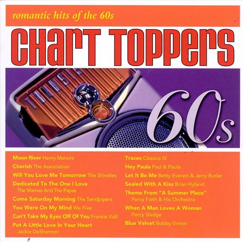 Various - Chart toppers:Romantic hits of 60's (CD) - image 1 of 1