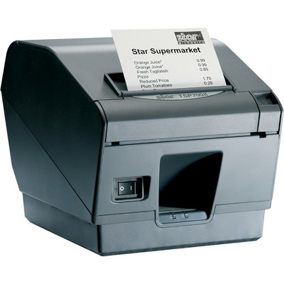 "Star Micronics TSP743IIU-24GRY Direct Thermal Printer - Monochrome - Wall Mount - Receipt Print - 9.84 in/s Mono - 406 x 203 dpi - 3.25"" Label Width"