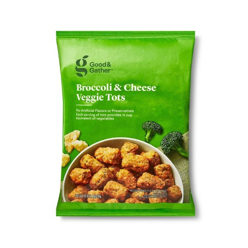 Frozen Broccoli and Cheese Veggie Tots - 16oz - Good & Gather™ - image 1 of 3