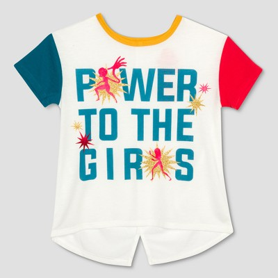06f76159 Toddler Girls' The Incredibles 2 Power Short Sleeve T-Shirt - Ivory 12M