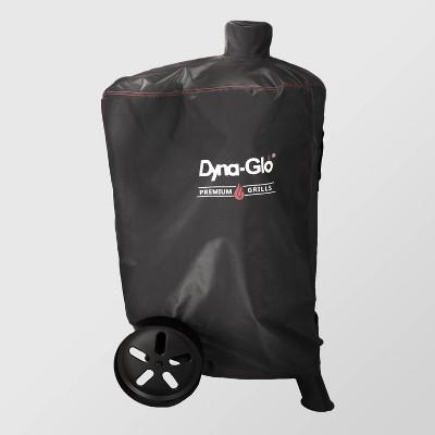 Premium Vertical Smoker Cover Black - Dyna-Glo