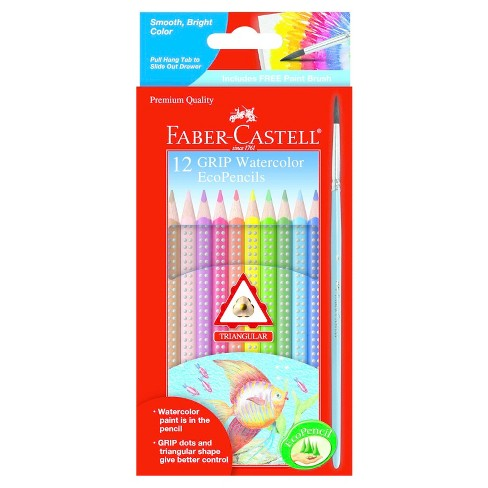 Faber-Castell® Watercolor EcoPencils with Grips 12ct - image 1 of 1