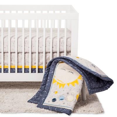 Trend Lab Crib Bedding Set - Galaxy - Navy