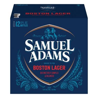 Samuel Adams Boston Lager Beer - 12pk/12 fl oz Bottles