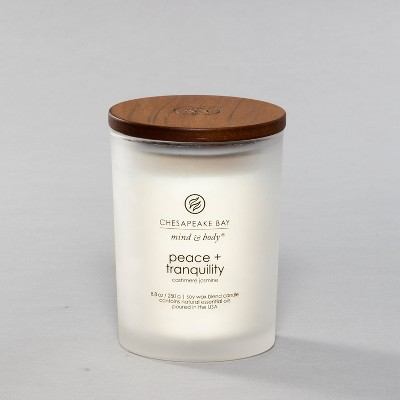 8.8oz Medium Jar Candle Peace & Tranquility - Chesapeake Bay Candle