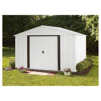 Arlington 10u0027 X 8u0027 Steel Storage Shed   Arrow Storage Products : Target