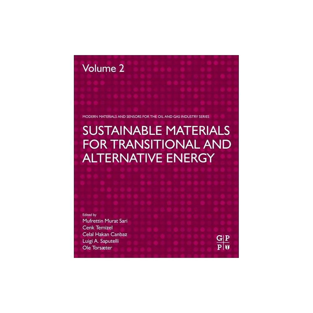Sustainable Materials For Transitional And Alternative Energy Advanced Materials And Sensors For The Oil And Gas Industry Paperback