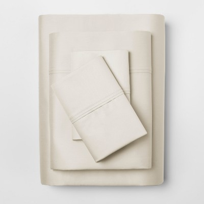 Performance Sheet Set (Queen)Ivory 400 Thread Count - Threshold™