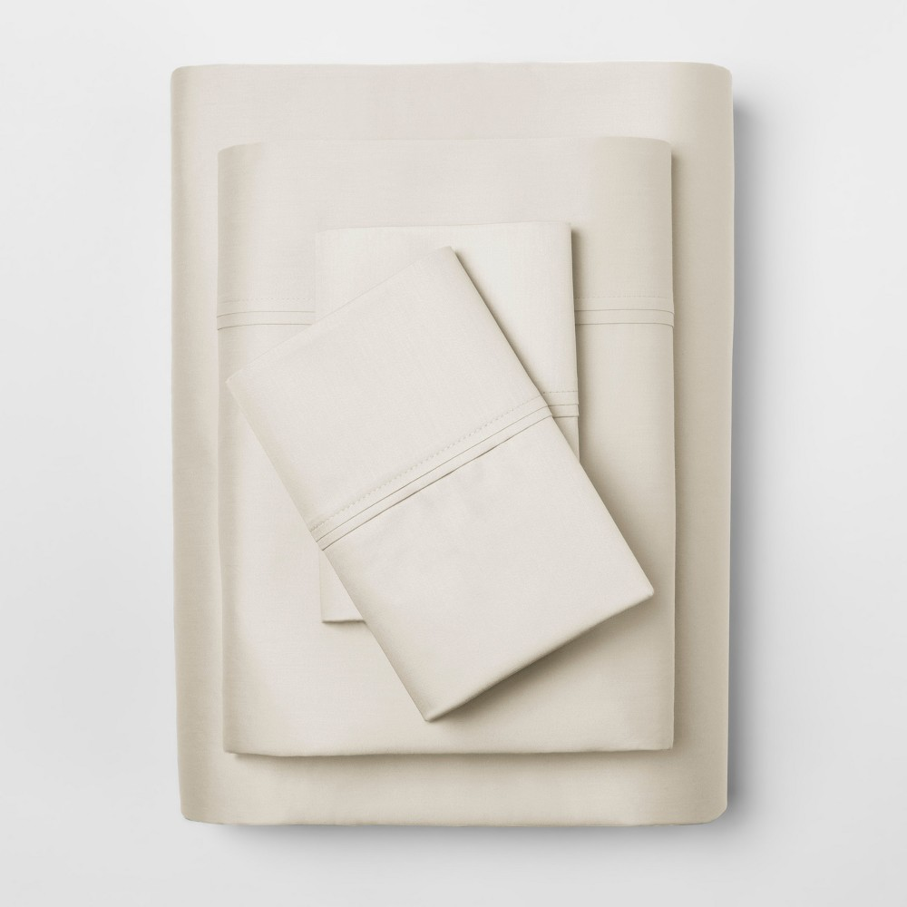 Performance Sheet Set (Twin Extra Long) Ivory 400 Thread Count - Threshold