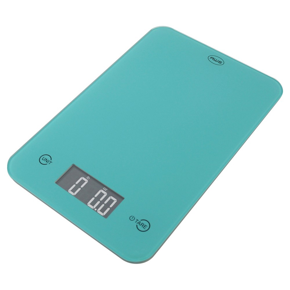 Image of AWS Digital Kitchen Scale - Turq, Turquoise