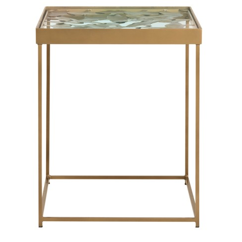 End Table Antique Brass - Safavieh - image 1 of 5