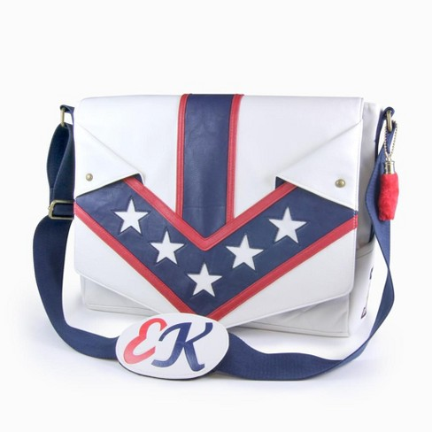 Crowded Coop, LLC Evel Knievel Jumpsuit Messenger Bag - image 1 of 4