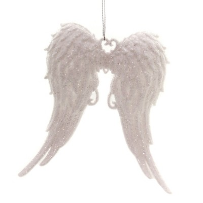"Holiday Ornament 5.5"" Angel Wings Faith Heavenly  -  Tree Ornaments"