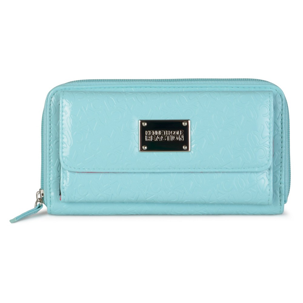 Wallet Kenneth Cole Blue Solid, Girl's