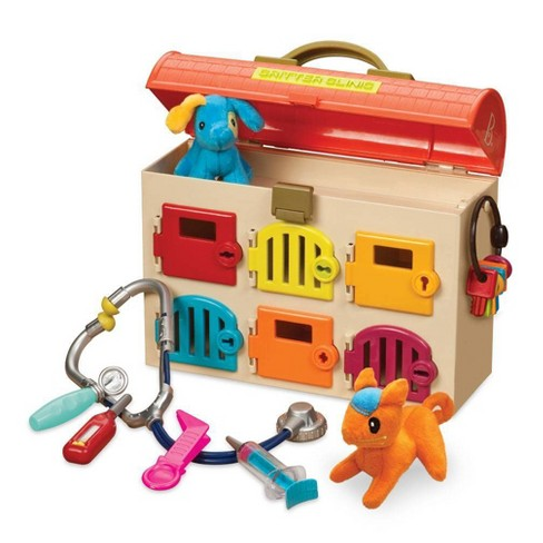 B. toys Toy Vet Kit for Kids Critter Clinic - image 1 of 3