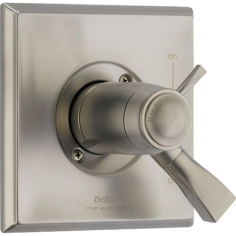 Delta Faucet T17T051 Dryden TempAssure 17T Series Dual Function Thermostatic Mixing Valve Trim Package - image 1 of 3