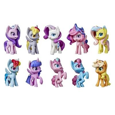 My Little Pony Unicorn Party Celebration 10 Birthday Party-Themed Pony Figures