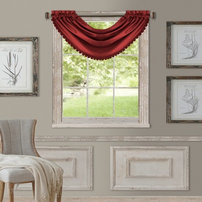 "All Seasons Waterfall Window Valance - 52"" x 36"" - Elrene Home Fashions"