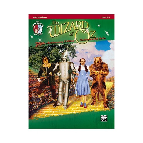 Alfred The Wizard of Oz 70th Anniversary Edition Instrumental Solos: Alto Sax (Songbook/CD) - image 1 of 1