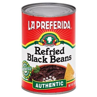 Beans: La Preferida Refried Black Beans