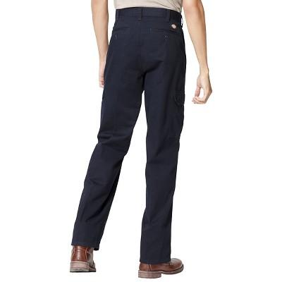 Dickies - Men's Big & Tall Loose Fit Cargo Work Pants Dark Navy 48x32, Dark Blue