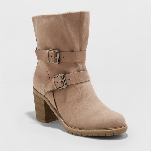 Women's Blinda Heeled Fashion Boots - A New Day™ - image 1 of 3