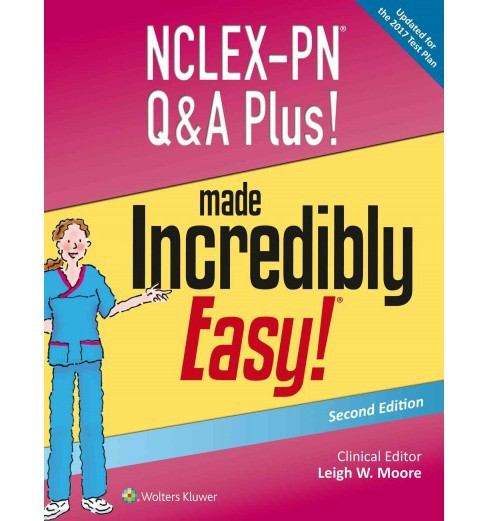 Nclex-pn Q&a Plus! Made Incredibly Easy! (Paperback) (Leigh W. Moore) - image 1 of 1