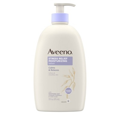 Aveeno Stress Relief Hand and Body Lotion - 33oz