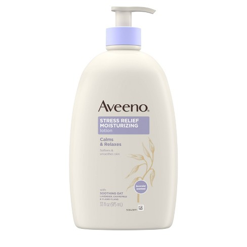 Aveeno Stress Relief Hand and Body Lotion - 33oz - image 1 of 4