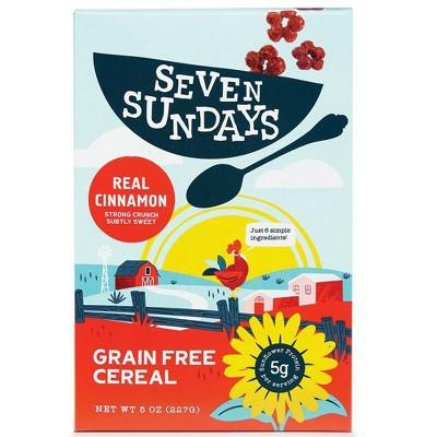Seven Sundays Real Cinnamon Cereal - 8oz