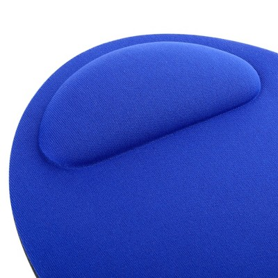 INSTEN Wrist Comfort Mouse Pad For Optical / Trackball Mouse, Blue