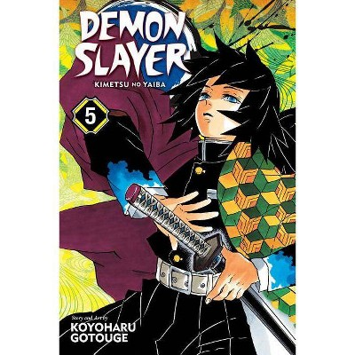 Demon Slayer: Kimetsu No Yaiba, Vol. 5, Volume 5 - by  Koyoharu Gotouge (Paperback)