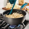 Rachael Ray Create Delicious 3qt Hard Anodized Nonstick Everything Pan with Lid Gray - image 2 of 4