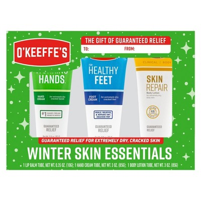 O'Keeffe's Winter Essentials Gift Pack - 3pk/9oz
