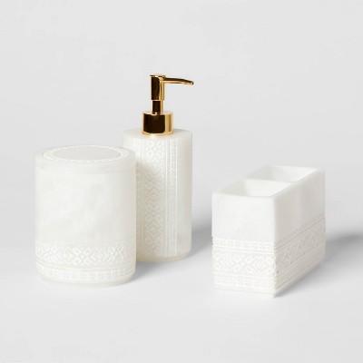 Carved Alabaster Bath Collection - Threshold™