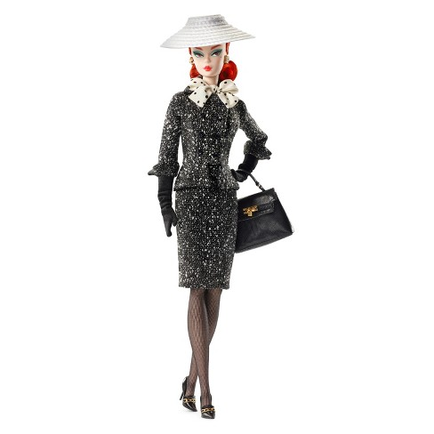 Barbie® Collector BFMC Black & White Tweed Suit Doll - image 1 of 5