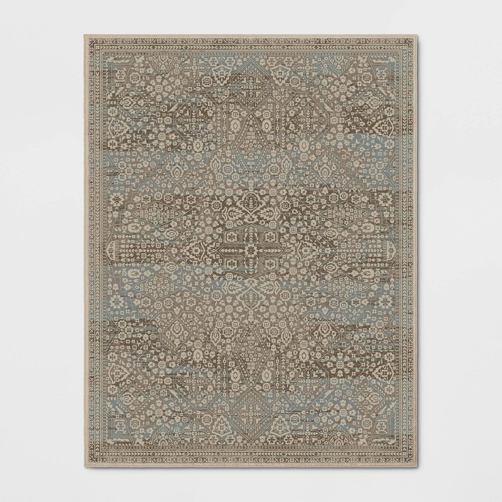 Greenvale Fleck Woven Area Rug Brown