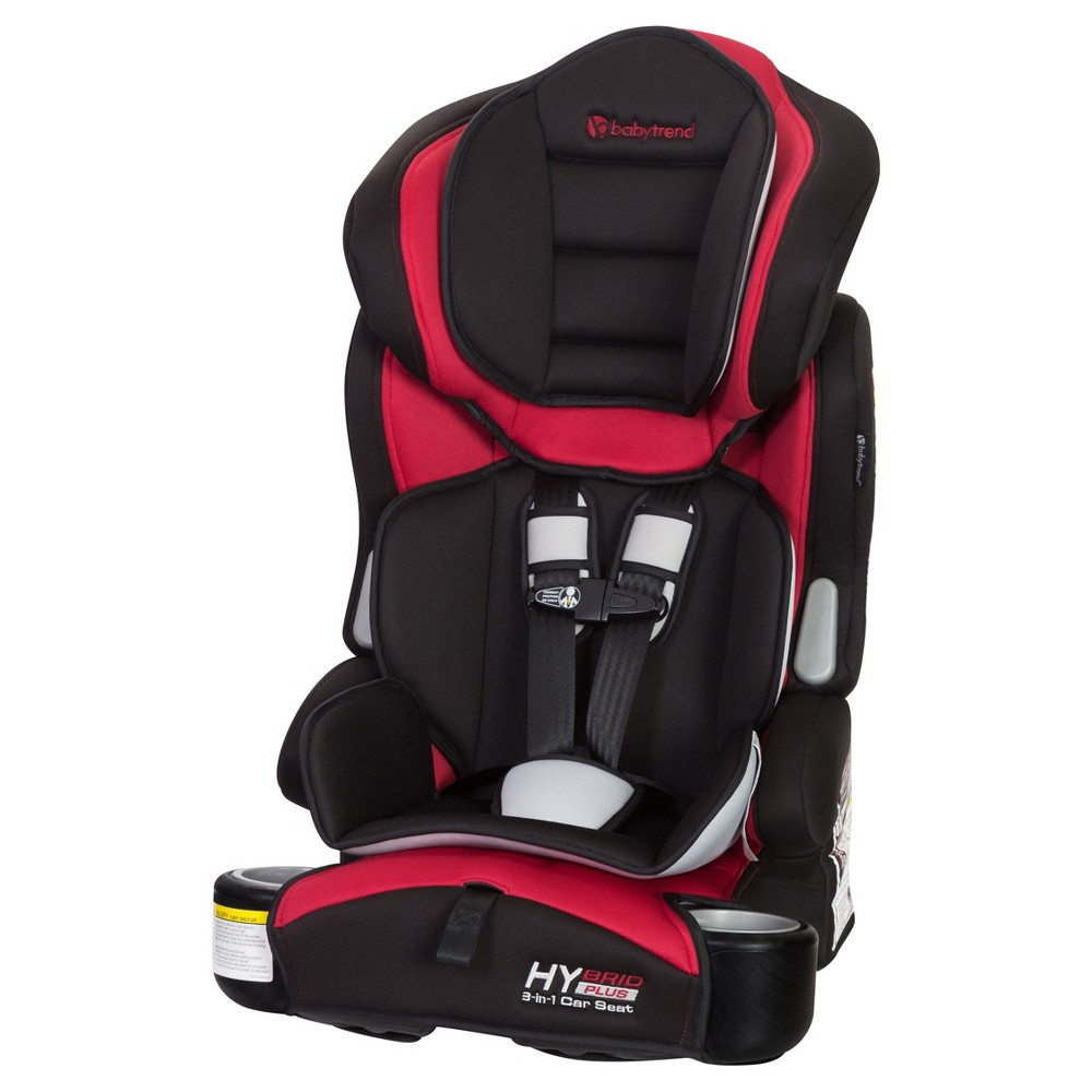 Image of Baby Trend Hybrid Plus 3-in-1 Car Seat - Wagon Red