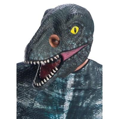 Jurassic World Velociraptor Blue 3/4 Adult Mask