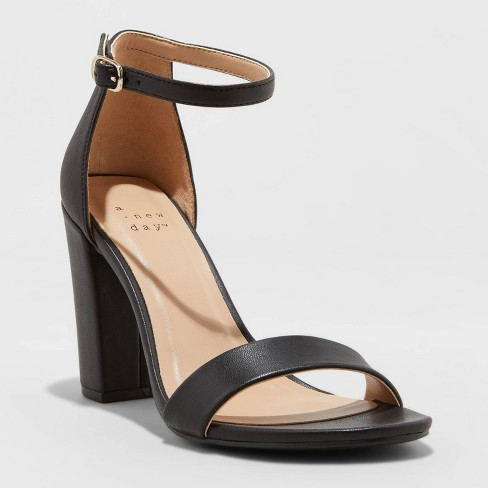 Women's Ema High Block Heeled Pumps - A New Day™ - image 1 of 3