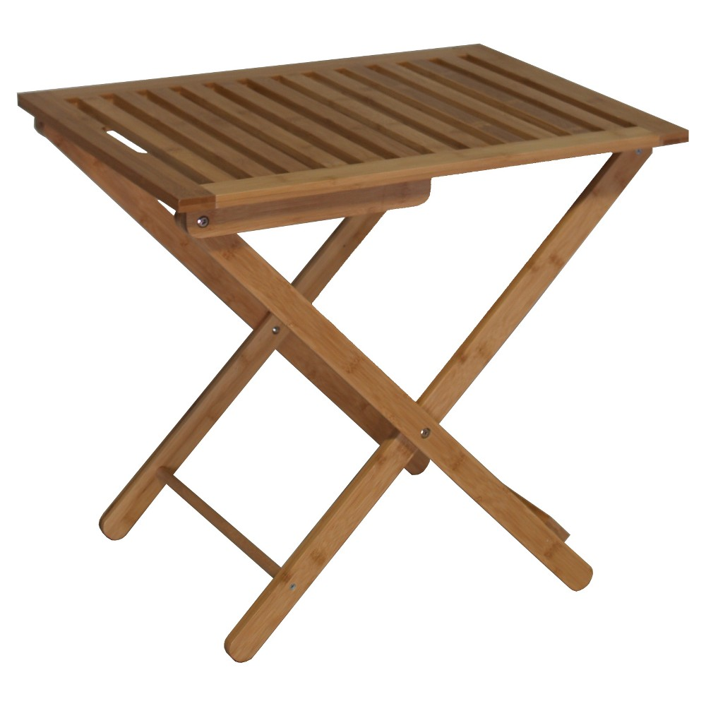 Image of Bali Bamboo Luggage Rack - Natural - Proman Products