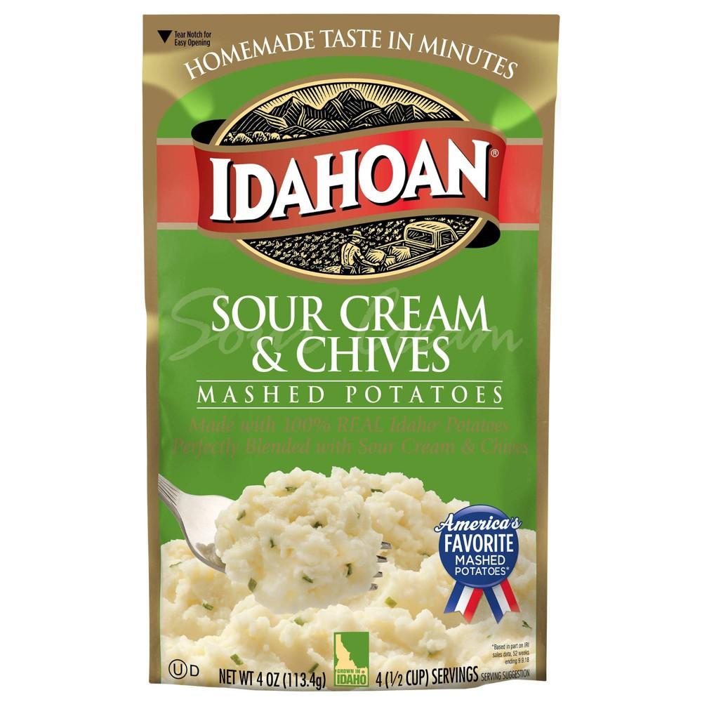 Idahoan Sour Cream Chives Mashed Potatoes 4oz