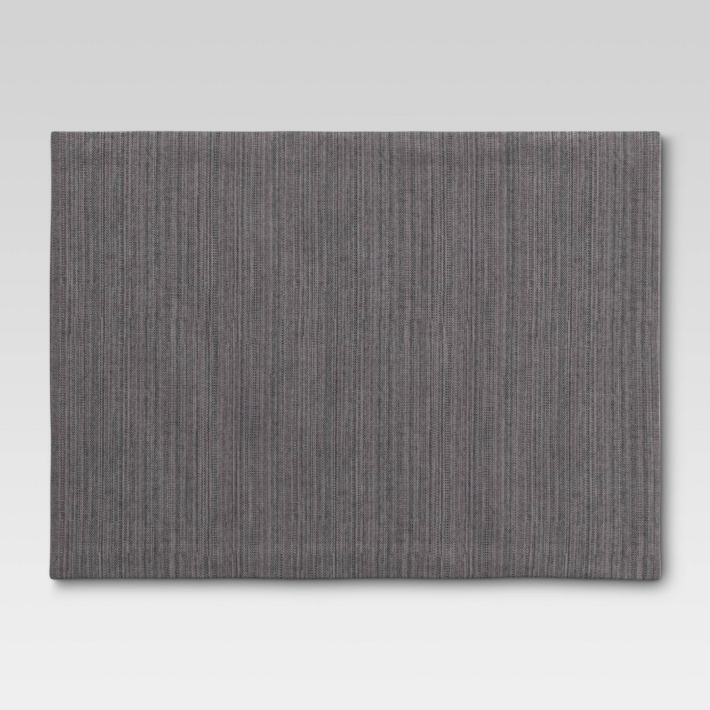 Solid Placemat Gray Threshold 8482