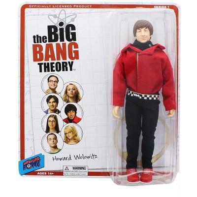 """Bif Bang Pow Big Bang Theory 8"""" Retro Clothed Action Figure, Howard (Red Shirt)"""