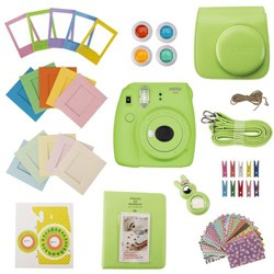 Slinger FujiFilm Instax Mini 9 Accessory Kit - Lime Green (Camera Not Included)