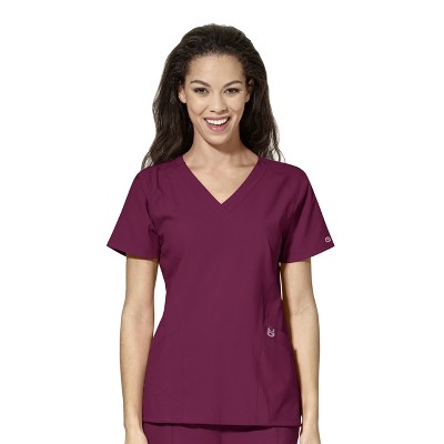 WonderWink Women's Stylized V-Neck Scrub Top