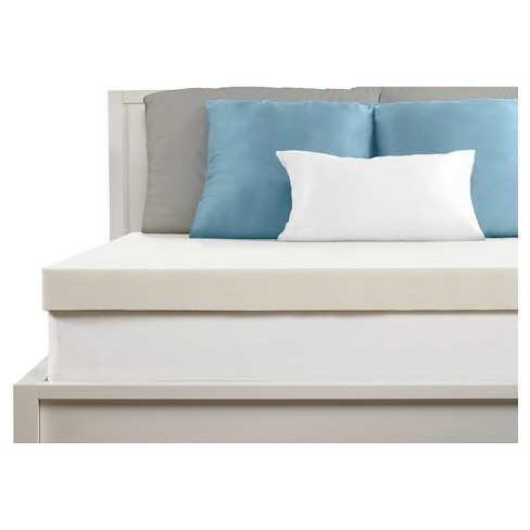 "Comfort Revolution 3"" Memory Foam Topper - White - image 1 of 2"