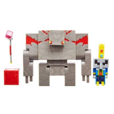 Minecraft Dungeon Villager and Golem