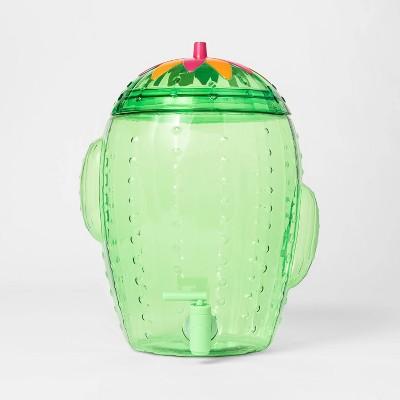 2gal Plastic Cactus Beverage Dispenser - Sun Squad™