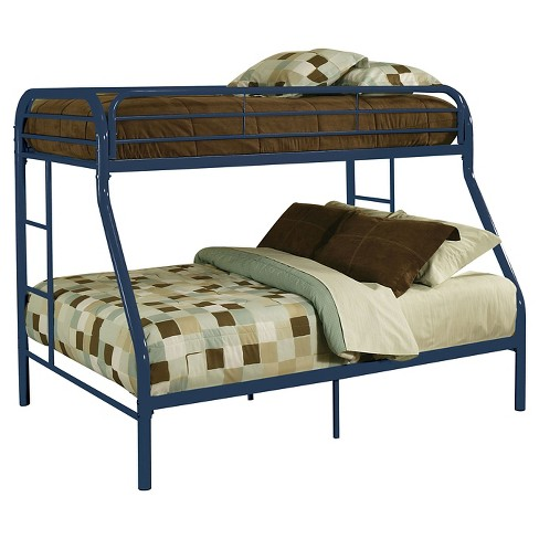 Tritan Kids Bunk Bed - Blue(Twin/Full) - Acme - image 1 of 2